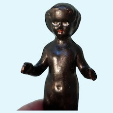 Black china Frozen Charlotte Doll