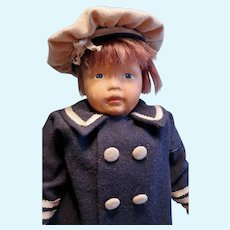 Kamkin Doll with Auburn hair and  a/o