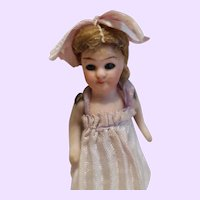 German All Bisque 3 inch Doll