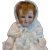 All Bisque Baby doll Marked 1102 Germany