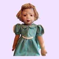 WPA Milwaukee Cloth Doll All Original