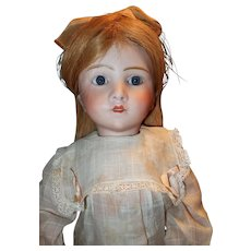 Rare French Bisque character Doll