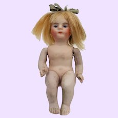 Kestner All bisque seated baby doll