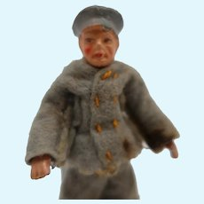 Doll House Man with Molded Hat