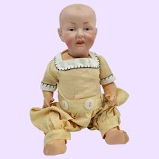 Solid Dome German Bisque Baby doll