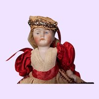 All bisque doll 4 1/2 inches