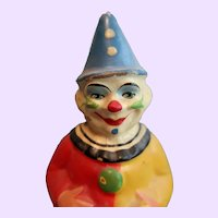 Roly Poly Paper mache Clown