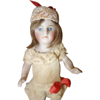 all bisque Doll with jointed arms
