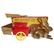 Hoppo the mechanical Rabbit Windup toy
