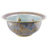 Superb Antique  FAIRYLAND LUSTRE Wedgwood English Thumbelina and Elves and Imps Bowl