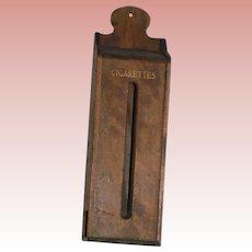 Dry Goods Store Cigarette Dispenser