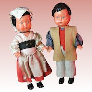 EDI 1950s Bavarian Couple; Western Germany