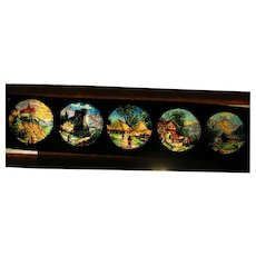 Magic Lantern slides; lot 3