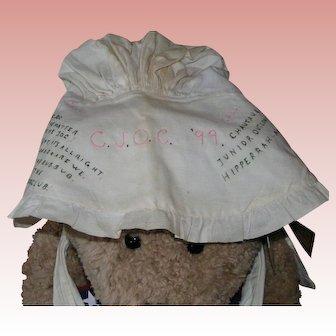 Very Early Junior Outlook Club Chautauqua Bonnet