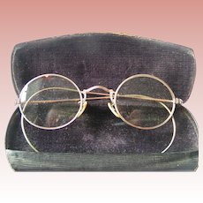 Banker's Spectacles with Case & provenance