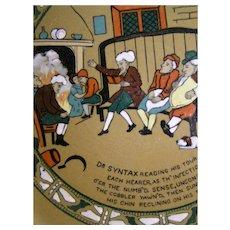 Dr. Syntax Buffalo Emerald Deldare bowl, 1911 - Red Tag Sale Item