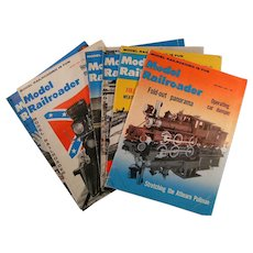 Model Railroader Magazine; 1960 full year