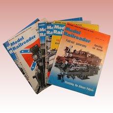 Model Railroader Magazine; 1960 full year