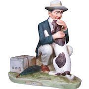 """Norman Rockwell """"Pals"""", Post Sept. 27, 1924 figurine"""