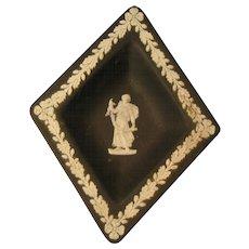Wedgwood Black Diamond Dresser / Trinket dish