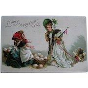 Early 1900's postmarks Easter postcard lot