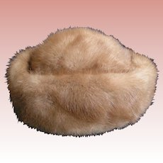 Mink Pillbox Hat Saks Fifth Avenue