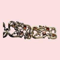 Coro Retro Bling Bracelet; day or evening wear