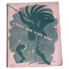 WW II US Soldier's, Sailor's orientation pamphlet for New Guinea & the Solomons