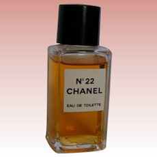 Chanel No. 22 EDT, one ounce bottle