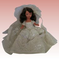 Nancy Ann Snow Queen Storybook 5 1/2 inch doll