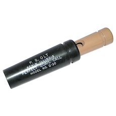 OLT Quail Call No. Q-30 with box and instructions