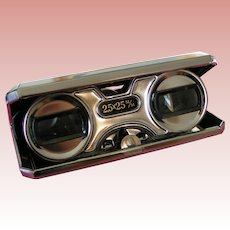 Sport Glass compact binoculars 2.5 X 25; opera glasses