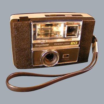 Keystone Everflash 20 Camera with Original case and dox