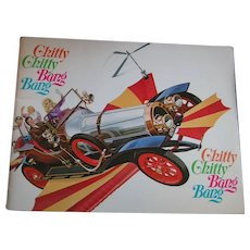 Chitty Chitty Bang Bang Original Movie Theater Program
