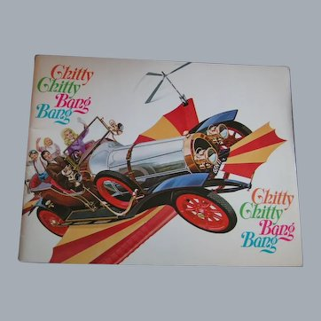 Chitty Chitty Bang Bang Original Movie Theater Program