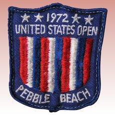 U.S. Open 1972 Golf Tourney original towel