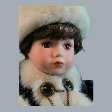 Sonya - Boyds Yesterday's Child Doll Collection;  all original, including bear