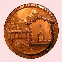 Medal Mission San Miguel Arcangel Bronze