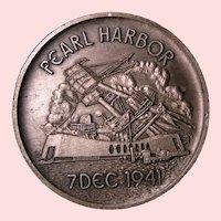 Pearl Harbor USS Arizona Medal