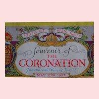 1937 King George VI Coronation souvenir original