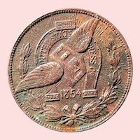 1904 Token Commemorative United States Express Co. 50 years