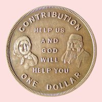 Sons and Daughters of Israel Home patron token