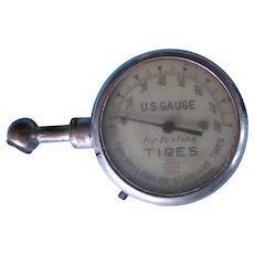U.S. Gauge Co. 1920's Tire Pressure tool