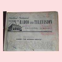 Early Radio, TV Tech Instruction Manuals