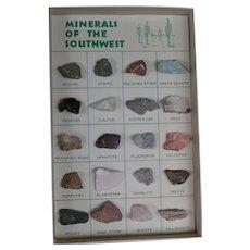 Southwest Minerals, Ephemera, Hoover Dam vintage collection; postcards