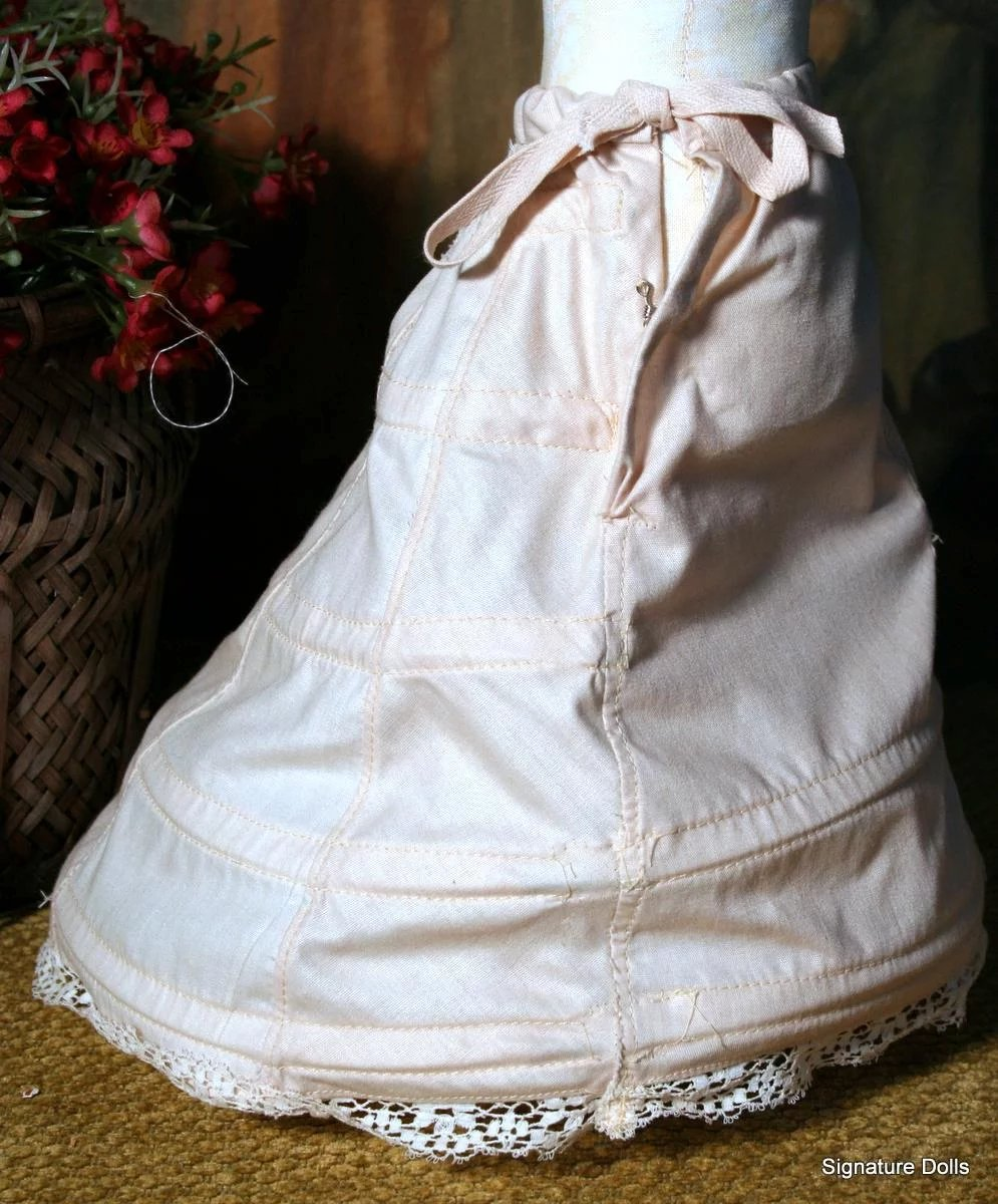 how to make a hoop skirt with wire