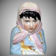 German Child Figurine 7.25 inches