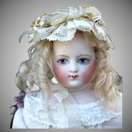 Painted Eye Barrois French Fashion Doll, So Sweet!
