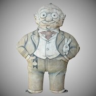 Foxy Grandpa Stuffed Lithographed Cloth Doll
