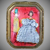 Mid 19th Century Enameled Lady's Pillbox